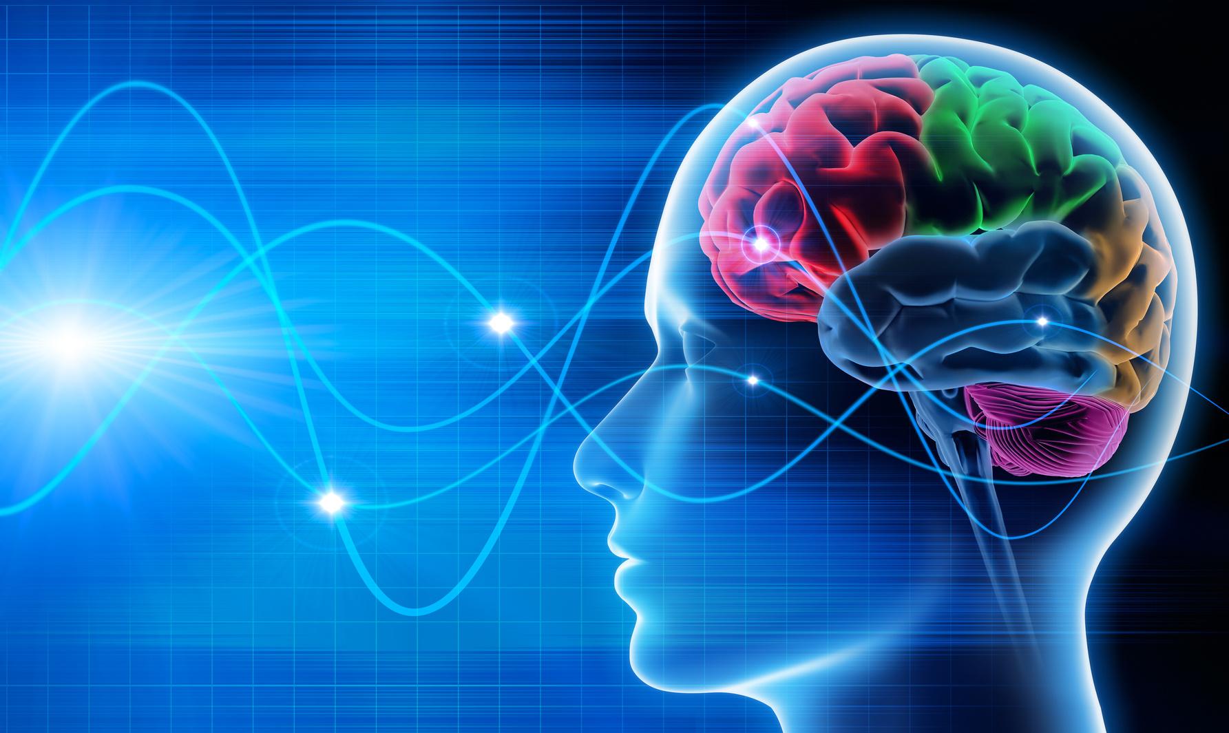 Gehirnwellen - Stimulation bei der Raucherentwöhnung